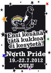 North Pride 2012 logo