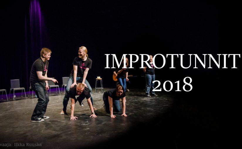 Syksyn 2018 Improtunnit