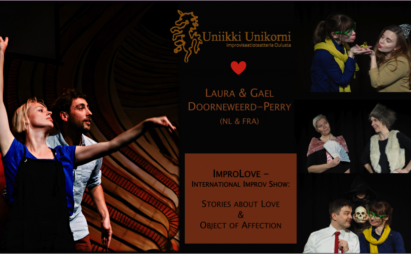 ImproLove – international improv show – Laura and Gael <3 UU on Sunday 22.9.