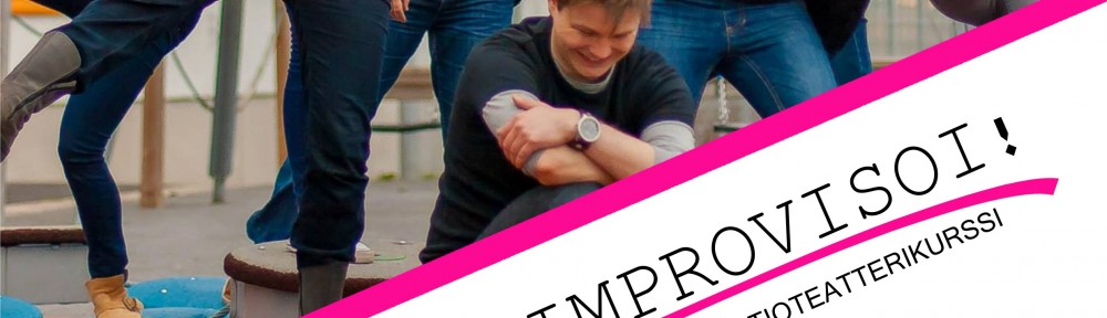 Improvisaatioteatterikurssi 2014 juliste